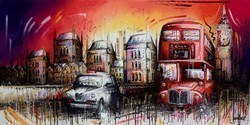 Drive Time by Samantha Ellis -  sized 48x24 inches. Available from Whitewall Galleries